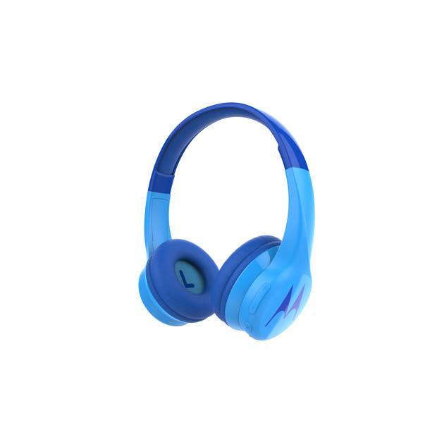 Motorola Squads 300 koptelefoon - voor kinderen - met volumebegrenzer - Bluetooth - blauw