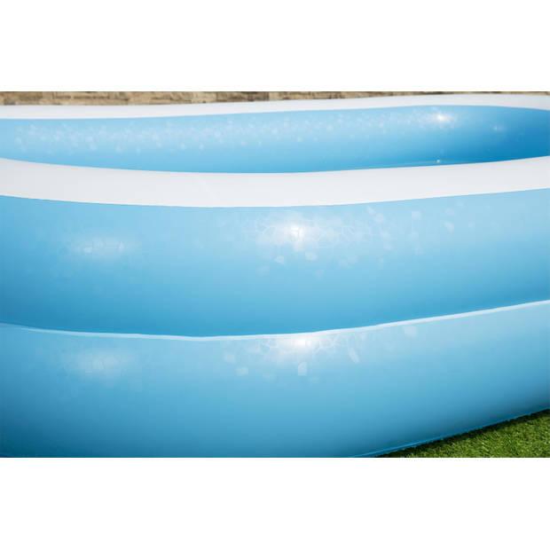 Bestway opblaasbaar familiezwembad - model 54006 - 2-rings - 262x175x51cm