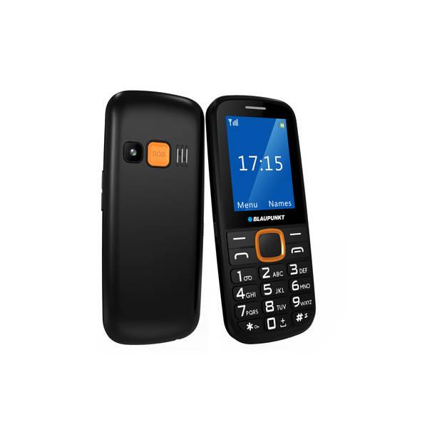 Blaupunkt Senioren mobiele telefoon - Zwart - Oranje (BS04-O)