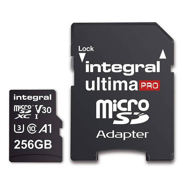 Integral Secure Digital kaart 256GB Micro SDXC V30