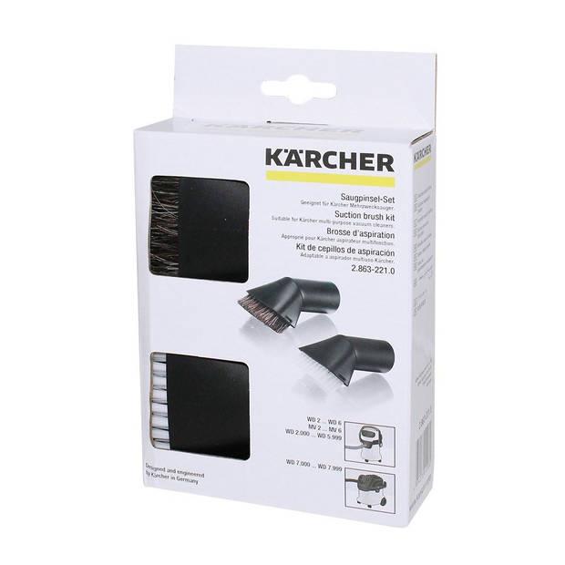 Karcher Auto Zuigborstel Kit Nat/Droogzuiger
