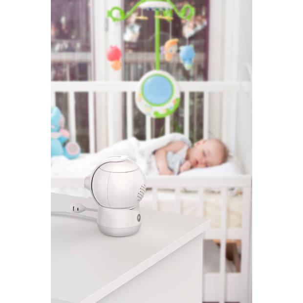Motorola Peekaboo-W babycamera - Full HD - met nachtlampje - 360° - wit