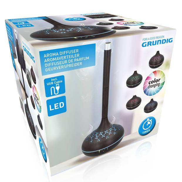 Grundig aromadiffuser - USB - timer - LED-verlichting - verschillende kleuren