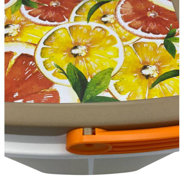 4Goodz Koelbox Grapefruit 5 liter - oranje/geel