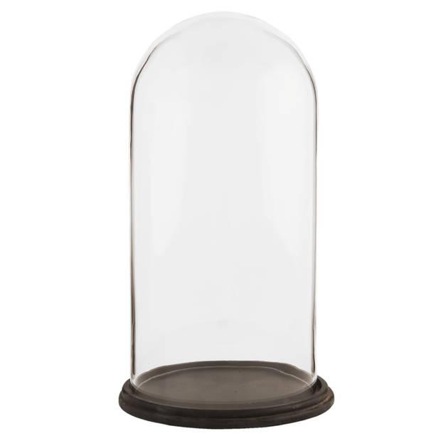 Clayre & Eef Stolp Ø 23*39 cm Transparant Glas Rond 6GL1270