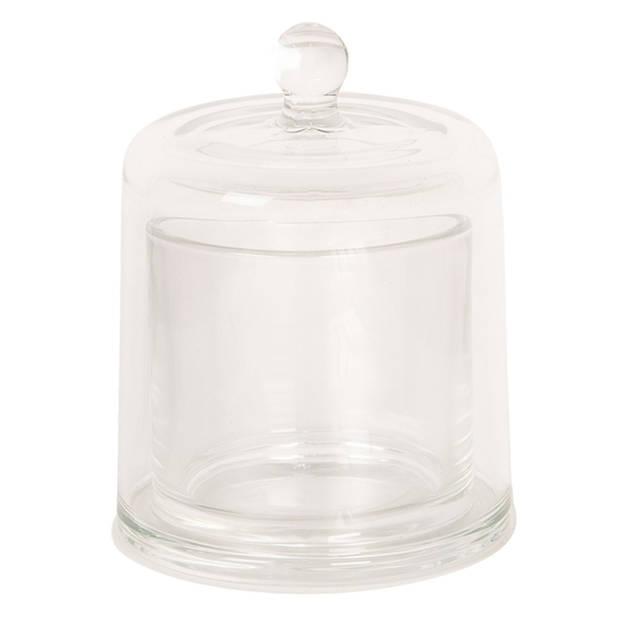 Clayre & Eef Stolp Ø 10*14 cm Transparant Glas Rond 6GL2489