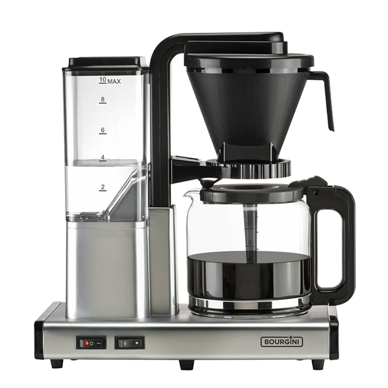 Korting Bourgini Filterkoffiezetapparaat Caffe Italiano Zilver