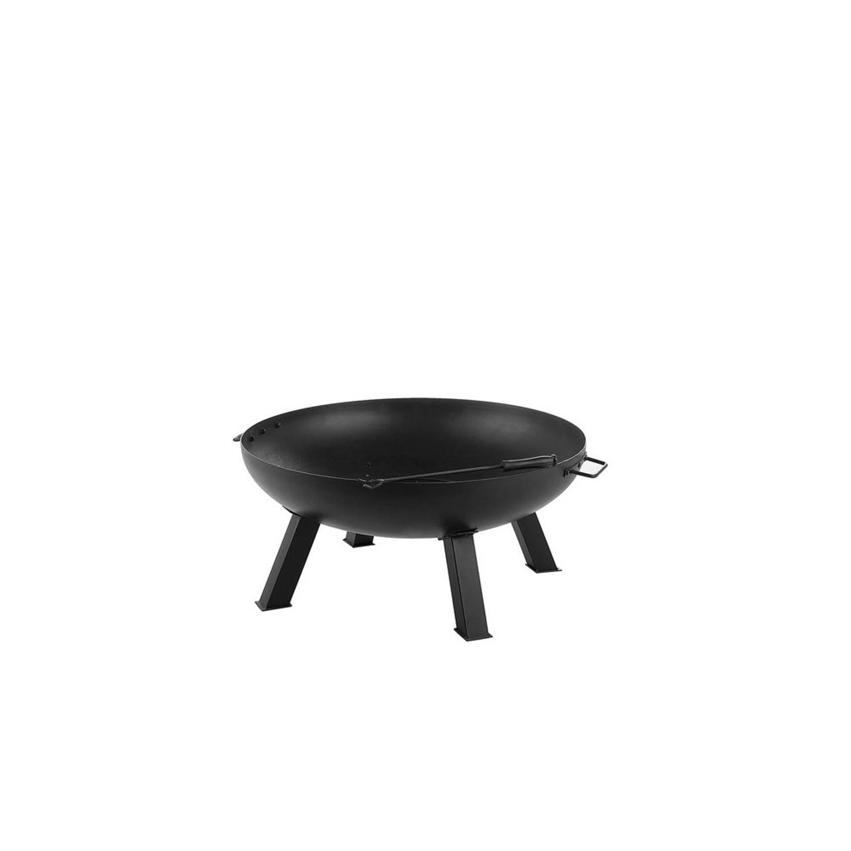 Beliani Sempu - Vuurkorf-zwart-staal