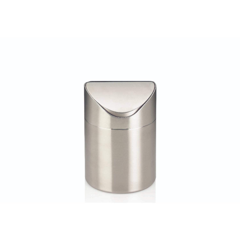 Elegance & Gloria Afvalemmer Swing - 1 Liter - Zilver - Kela