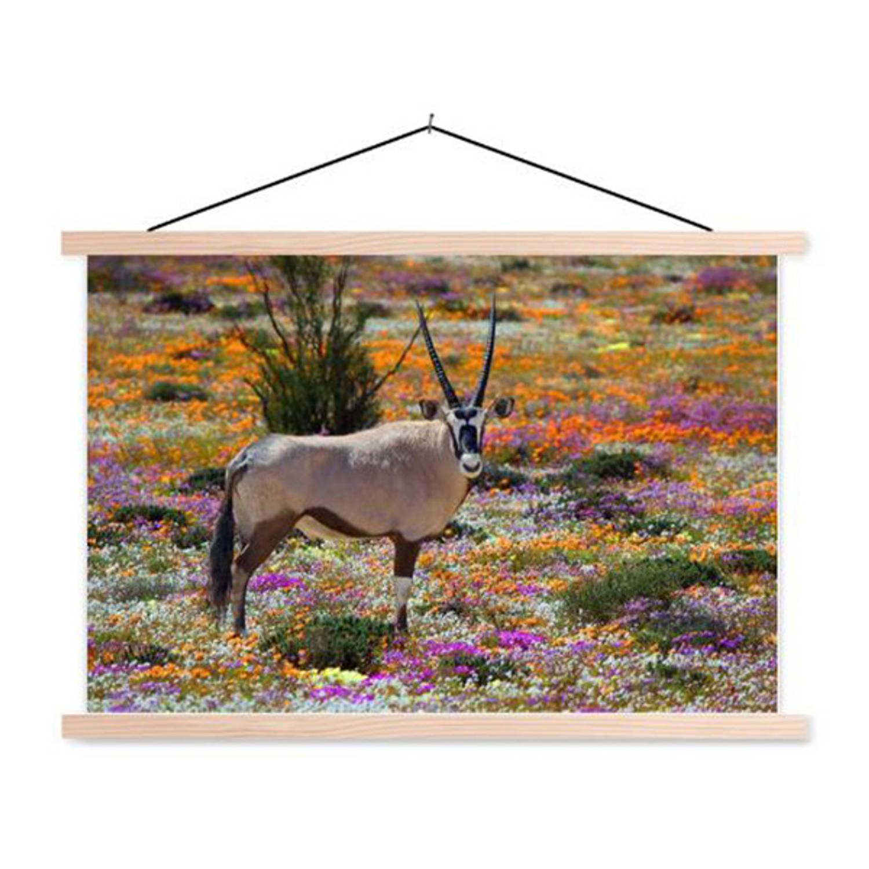 Schoolplaat Oryx