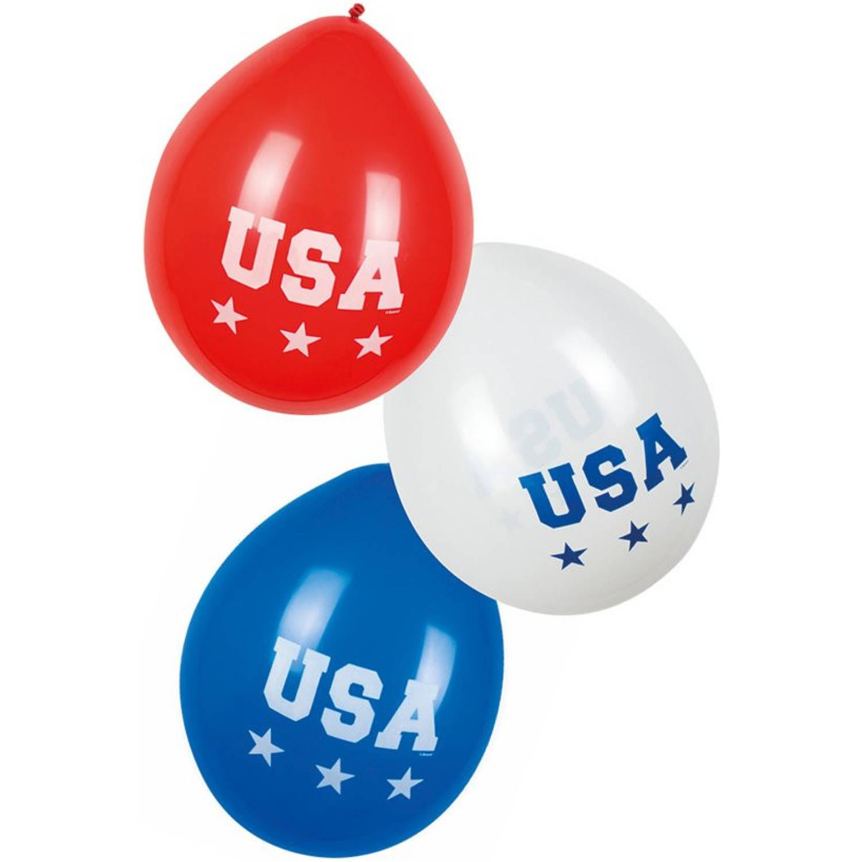 Feestbazaar Ballonnen Amerika USA (6st) online kopen