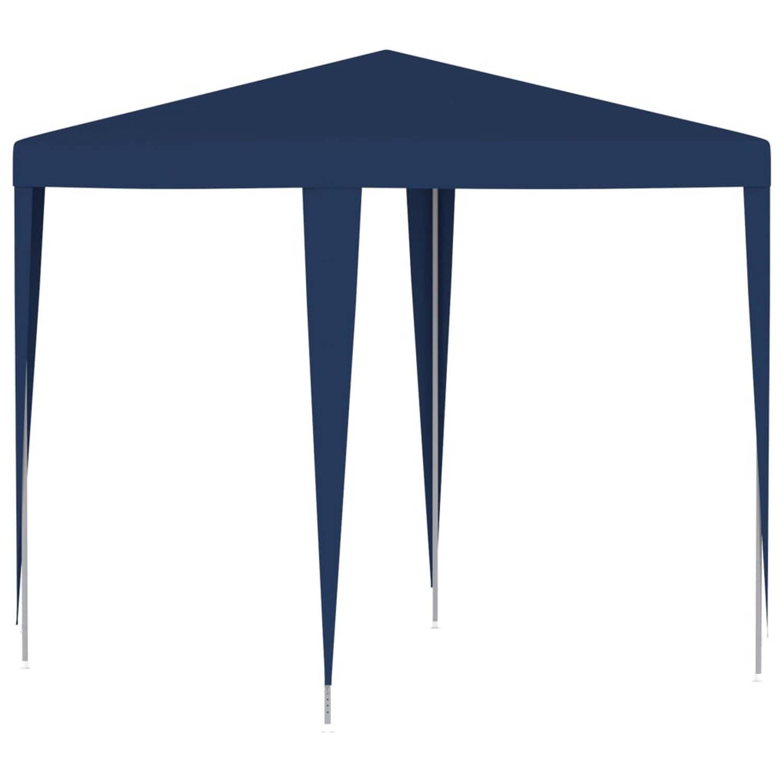 vidaXL Partytent 2x2 m blauw