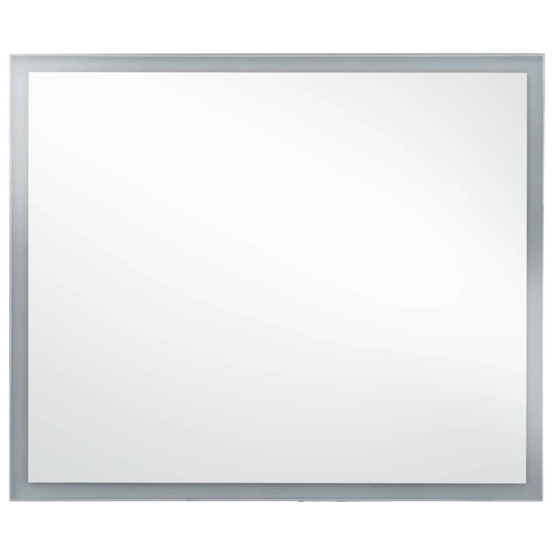 vidaXL Badkamerspiegel LED 80x60 cm