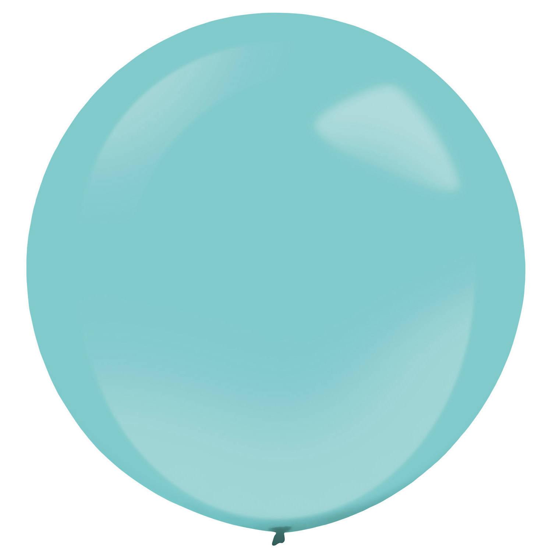 Korting Amscan Ballonnen 60 Cm Latex Turquoise 4 Stuks