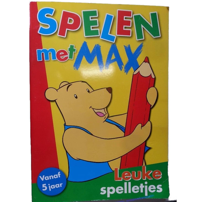 Korting Tom Spelletjesboek Voorgekleurd Spelen Met Max