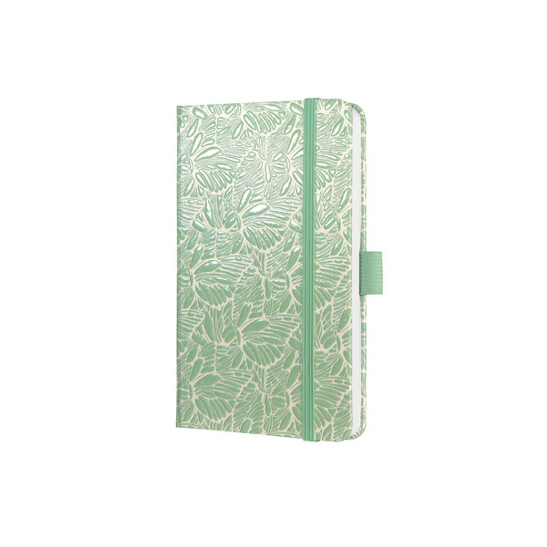 Korting Weekagenda Jolie Beauty A6 2021 Hardcover 'Aquamarine Moths'
