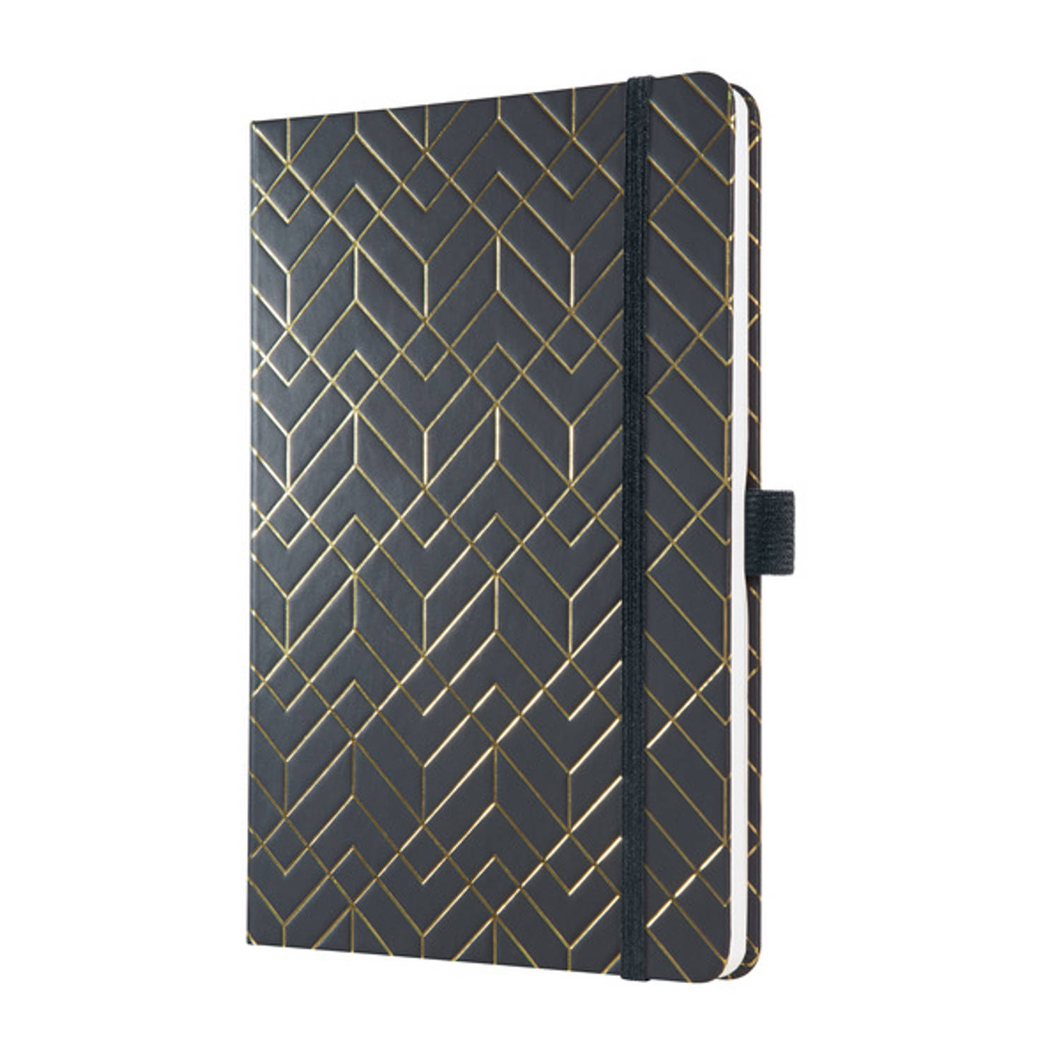 Korting Weekagenda Jolie Beauty A5 2021 Hardcover 'Metallic Black'