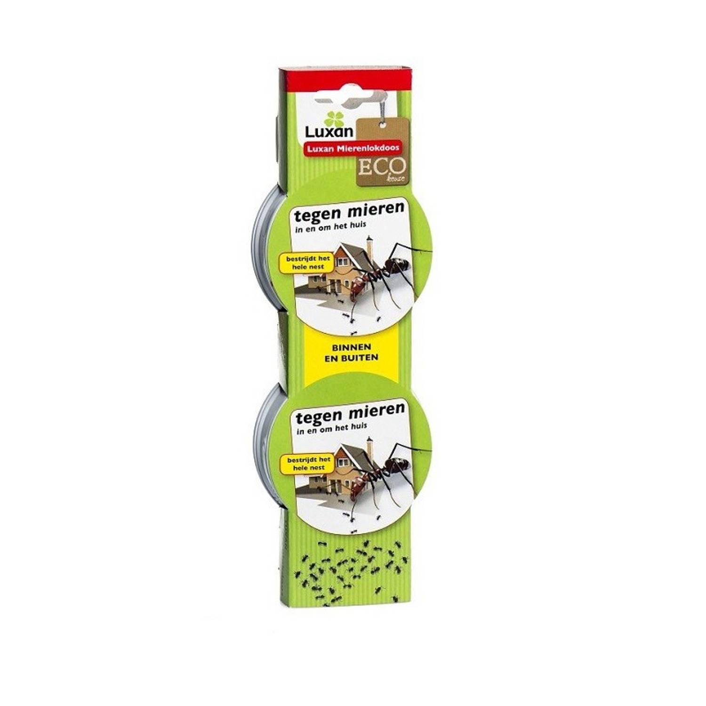 Korting 4 stuks Mierenlokdoosjes 7,5 x 7,5 x 2,5 cm ongediertebestrijding mierenlookdoos