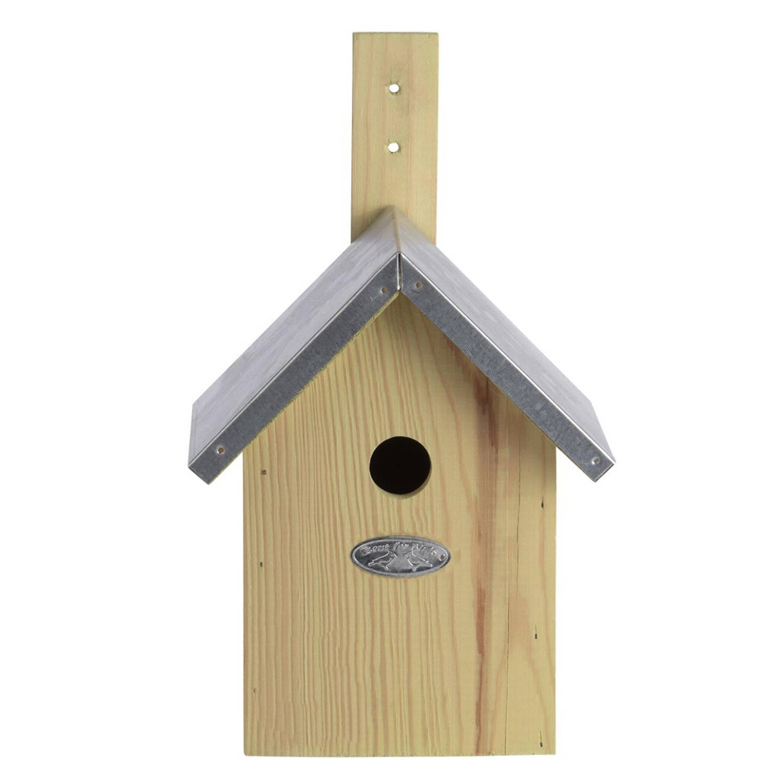 Merkloos Houten Vogelhuisje/nestkastje Pimpelmees Tuindecoratie Vogelnest Nestkast Vogelhuisjes online kopen