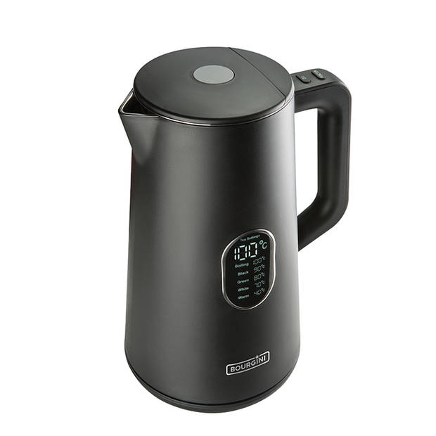 Bourgini waterkoker Cool Touch Digitaal - 1,5 liter