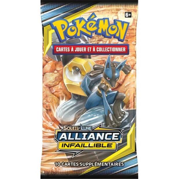 POKEMON Zon en maan 10 - Onfeilbare alliantie - Booster SL10 - 10 Pokémon-kaarten - Willekeurig model
