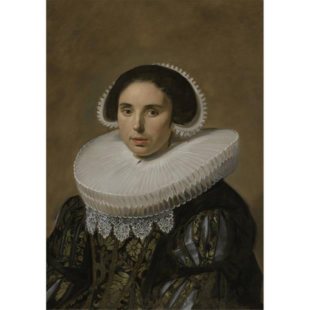 Schilderij Portret Vrouw