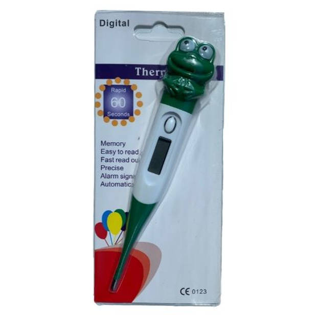 Orange85 Thermometer Kind Flexibel Digitaal Kikker