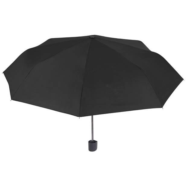 Perletti mini-paraplu 96 cm polyester zwart