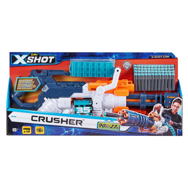 X-Shot Excel Dart Blaster Crusher