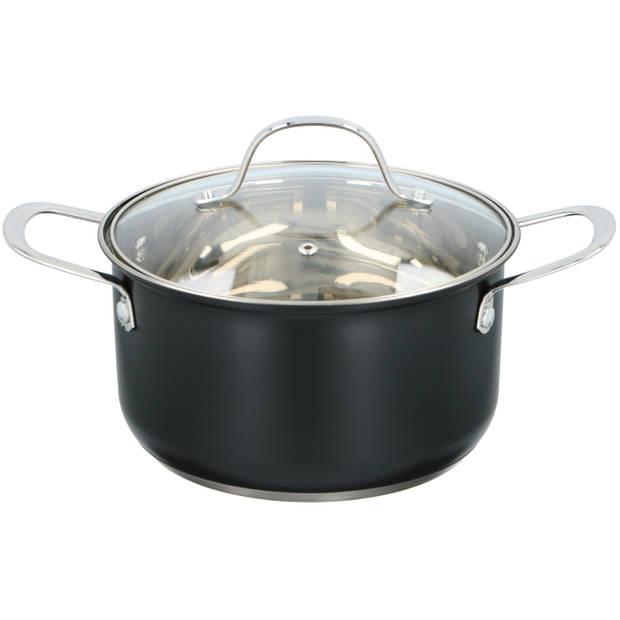 Alpina pan met deksel - Ø 20 cm - voor alle warmtebronnen