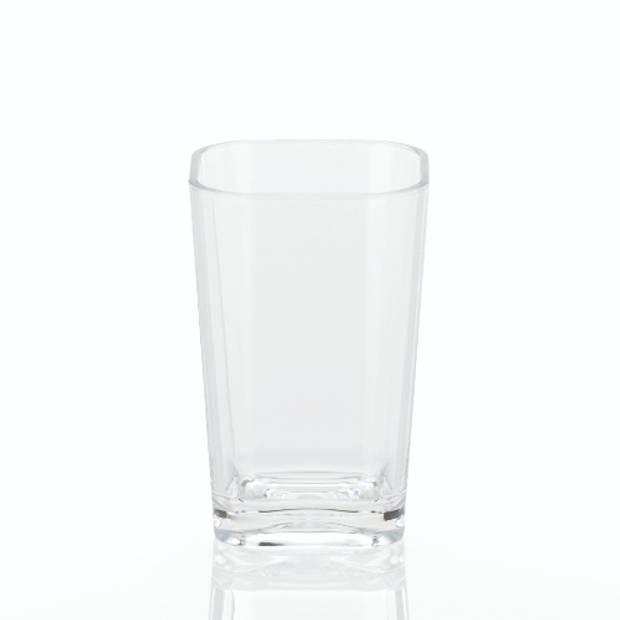 Kristall Drinkbeker Badkamer - Transparant - Kela