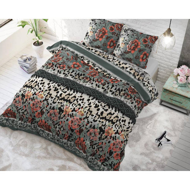 Sleeptime DBO ST Panther Lacy Anthracite 140x220