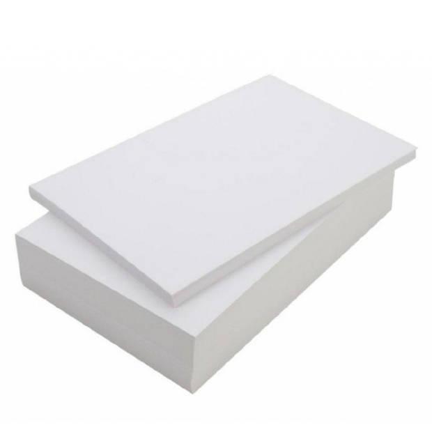 Print / kopieerpapier A4 1000 vellen - blanco printpapier