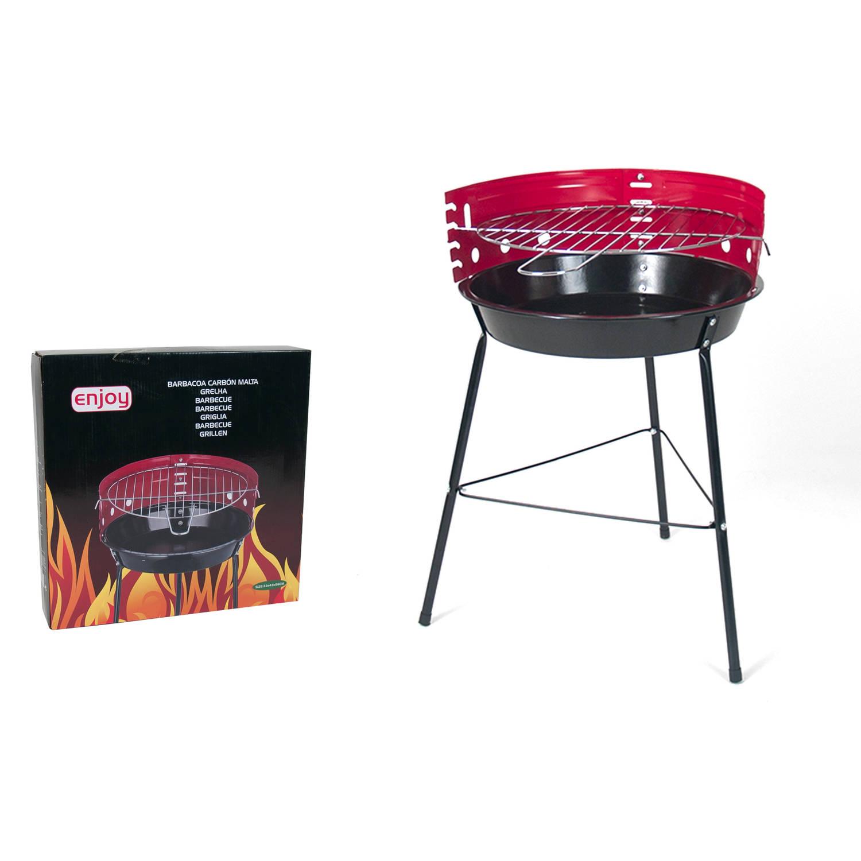Gerimport - Barbecue - Model Malta - BBQ Houtskool of Briketten - 43x33x56cm