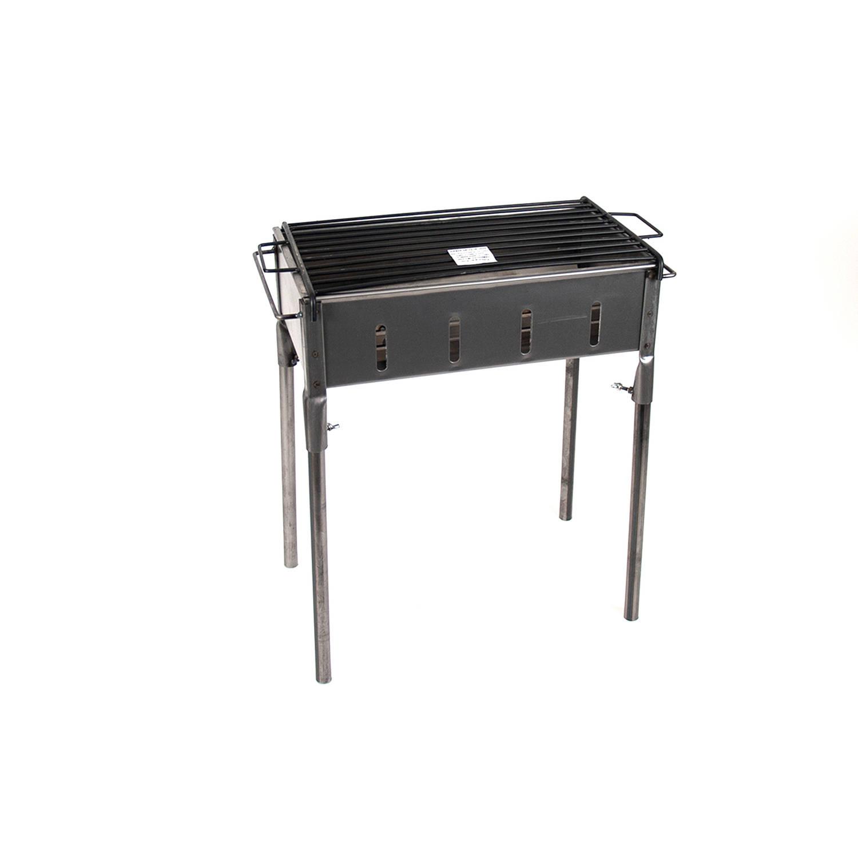 Gerimport - Barbecue Model Exa - Houtskoolbarbecue - 45x25x60cm - BBQ Houtskool of Briketten - Metaa