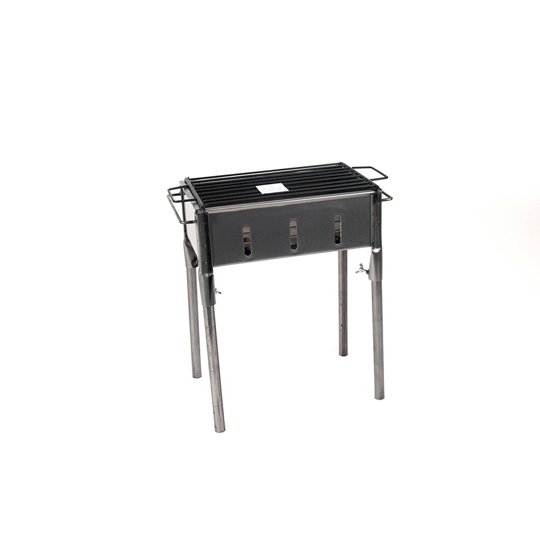 Gerimport Compacte Barbecue Model Eva Houtskoolbarbecue 35x20x50cm Bbq Houtskool Of Briketten Metaal