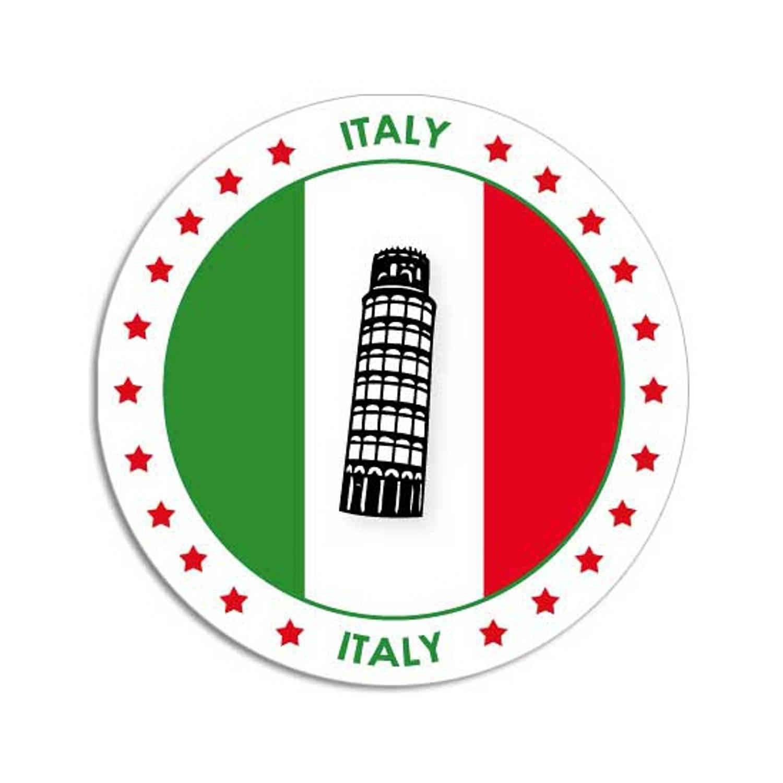 50x Bierviltjes Italie Thema Print Onderzetters Italiaanse Vlag Landen Decoratie Feestartikelen Blokker