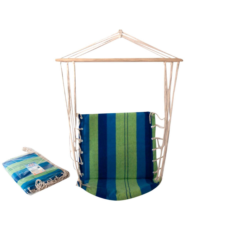 Gerimport - Trendy Hangstoel - Tuin - Outdoor - Katoen - Eyecatcher - Relax - Ontspannen - 50x90x96c