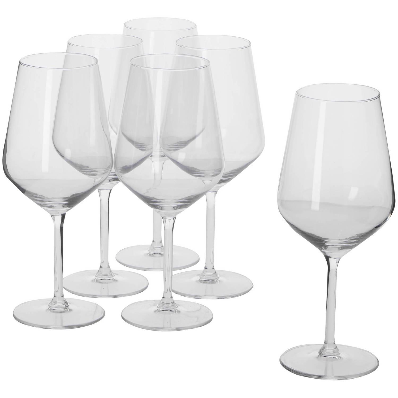 Alpina Wijnglazen - Wijnglas Set Voor Rode Wijn - 53 Cl - 6 Stuks