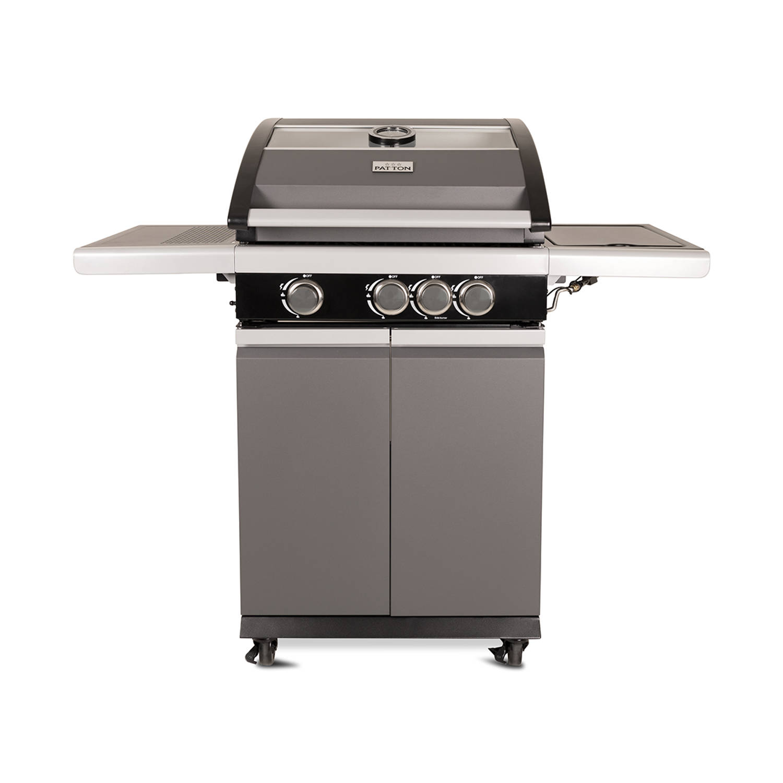 Patton Patio Pro Chef gasbarbecue 31 frozen grey