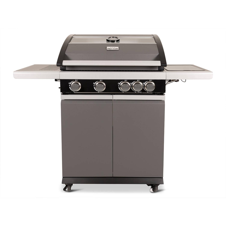 Patton Patio Pro Chef gasbarbecue 41 frozen grey