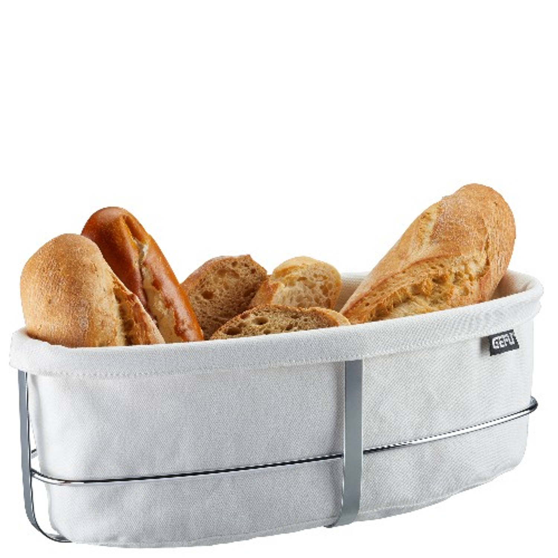 Broodmand Brunch - Ovaal - Wit - Gefu
