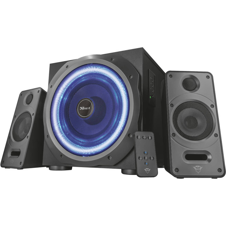 Trust GXT 688 Torro luidspreker set 2.1 kanalen 60 W Zwart, Blauw