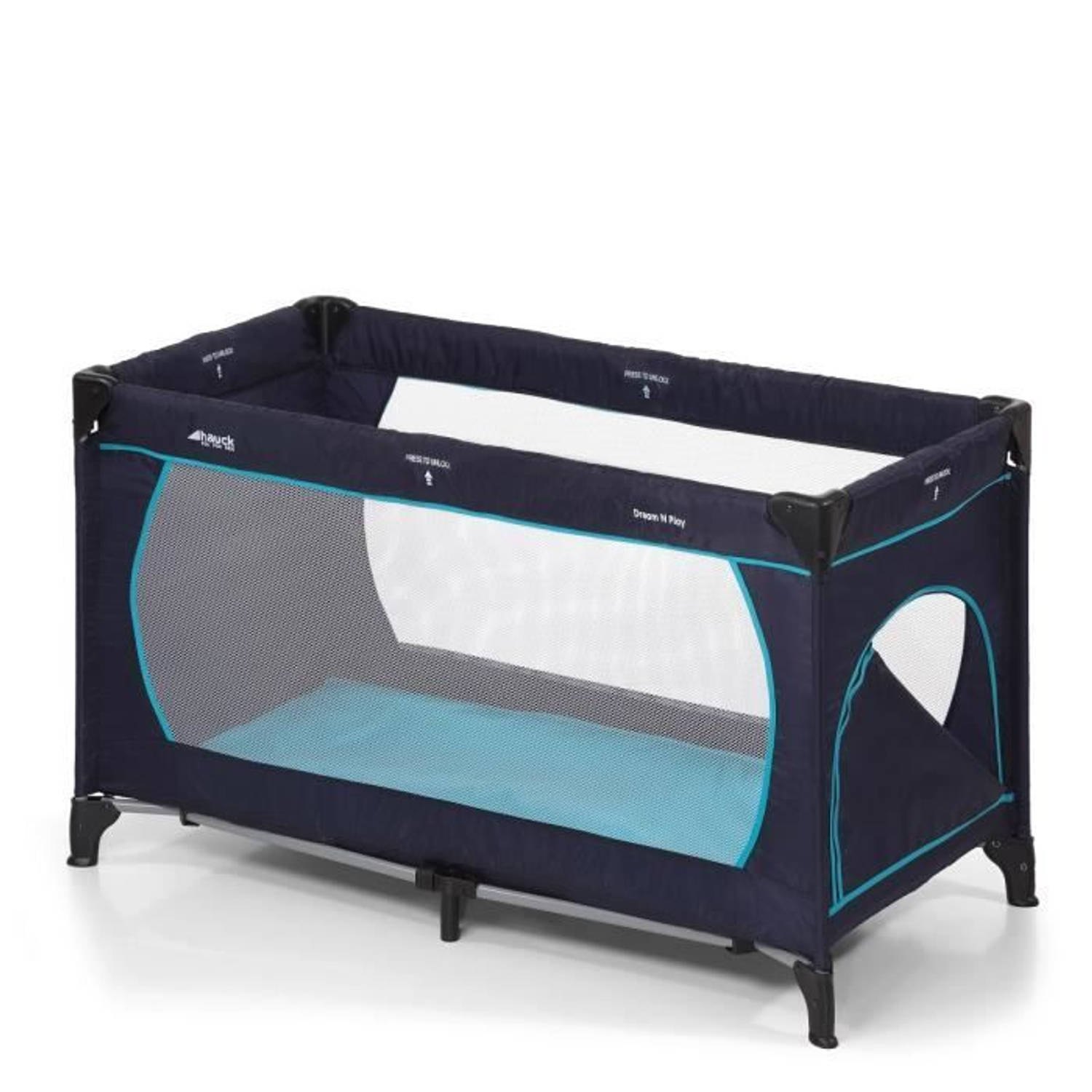 Reisbed Dream'n Play Plus Marineblauw, Hauck
