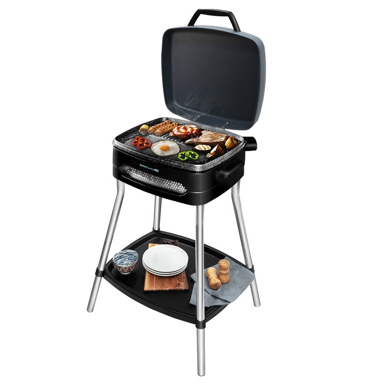 Cecotec Elektrisch Staand Barbecue - Anti Aanbak - Grill - Bbq - Barbeque - Rvs