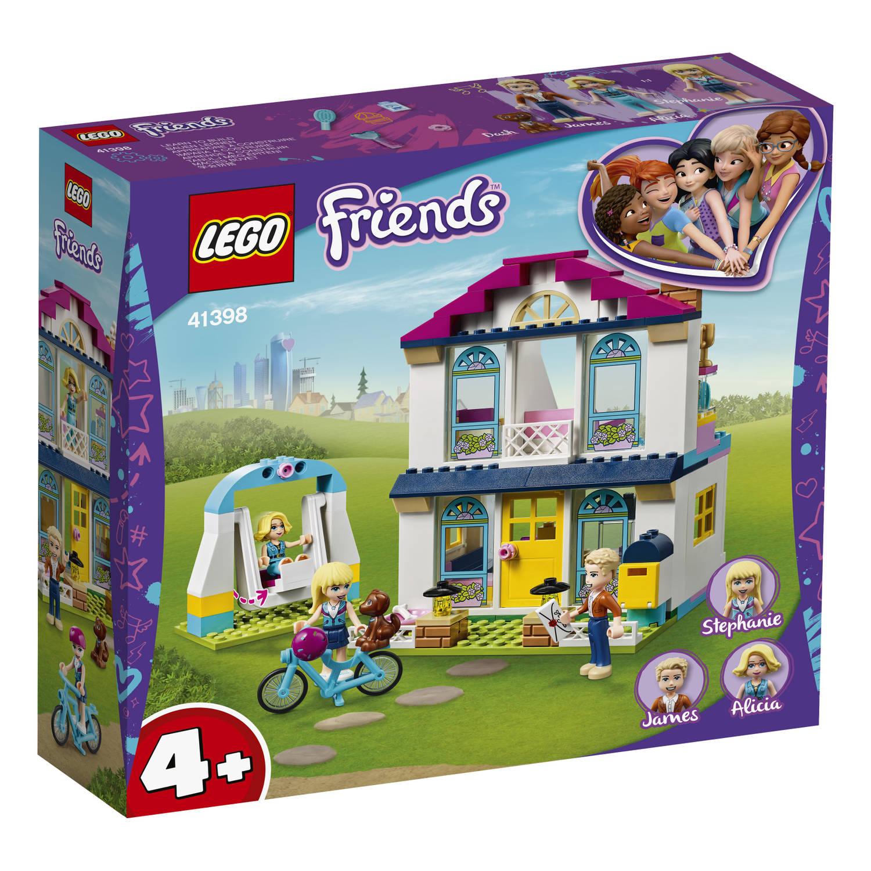 41398 Lego Friends Stephanies Huis prijzen vergelijken. Klik voor vergroting.