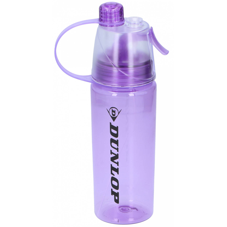 Dunlop Drinkfles Tritan 550 Ml Polyetheen 24.5 Cm Paars