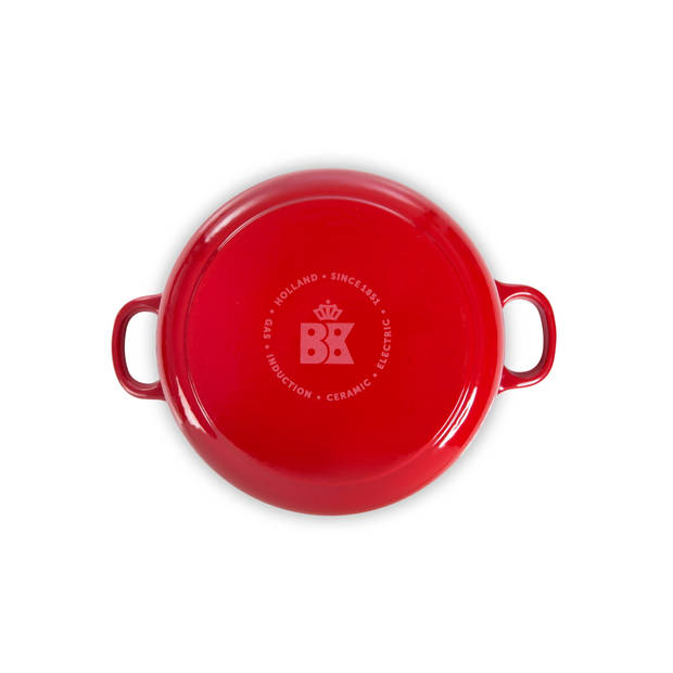 BK Bourgogne braadpan - Ø 20 cm - Chili Red