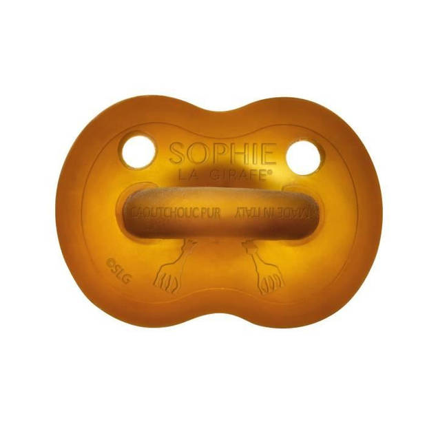 SOPHIE LA GIRAFE So'Pure Rubber Fopspeen - 6 - 18 maanden