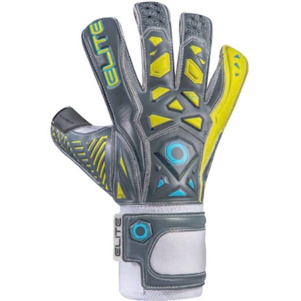 Elite keepershandschoenen 27 cm grijs/geel Armour-10